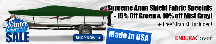 Save 15% Off Green & 10% Off Mist Gray Supreme Aqua Shield