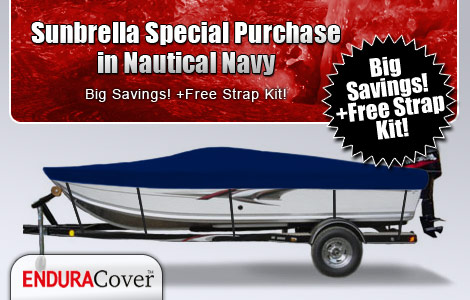 Sunbrella Special Purchase in Nautical Navy
