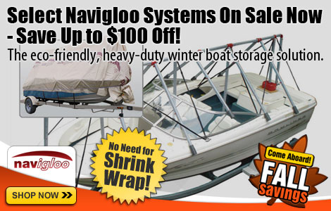Navigloo Boat Shelter System - Up to $100 Off!
