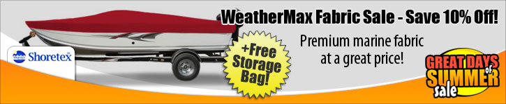 Save 10% Off WeatherMax Fabric!