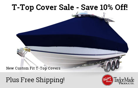 Save 10% Off T-Top Covers!