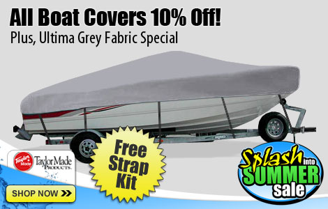 Save 10% Off Taylor Made Boat Covers!