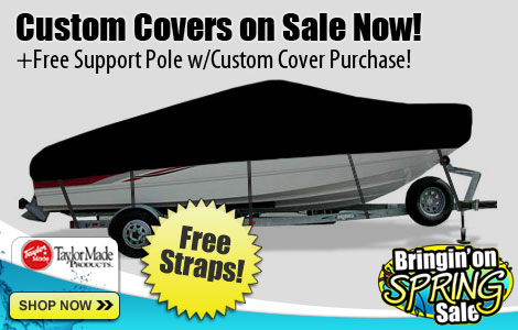 Custom Covers on Sale! + Free Support Pole w/Custom Cover Purchase!