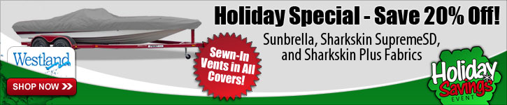 Sunbrella, Sharkskin SupremeSD & Sharkskin Plus Covers Now 20% Off!