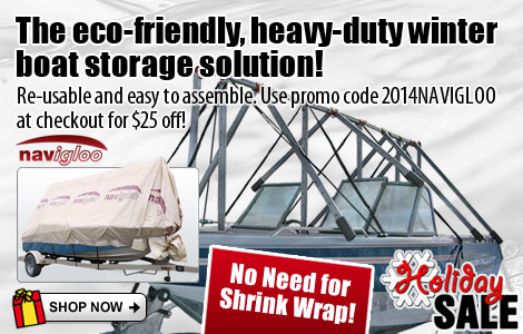 No Need for Shrink Wrap! Use promo code 2014NAVIGLOO for $25 Off!