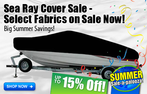 Select Sea Ray Covers on Sale Now!