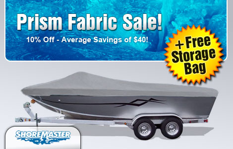 10% Off Prism Boat Covers!