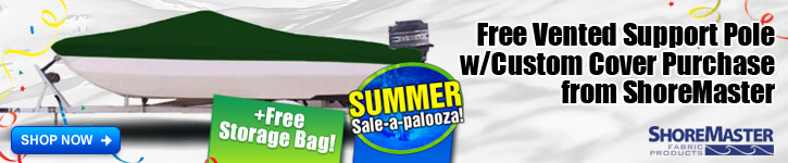 Free Vented Support Pole w/Custom Cover Purchase!