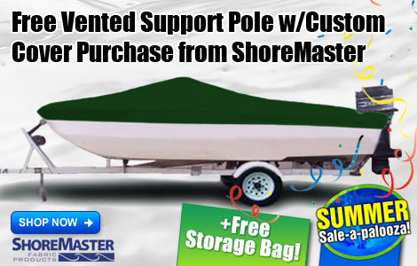 Free Vented Support Pole w/ Custom Cover Purchase!