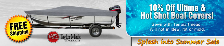 Save 10% on Ultima and Hot Shot Boat Covers!