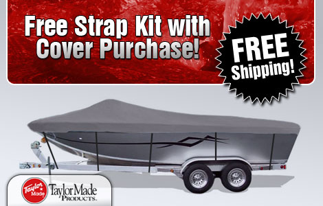 Free Strap Kit w/Cover Purchase!