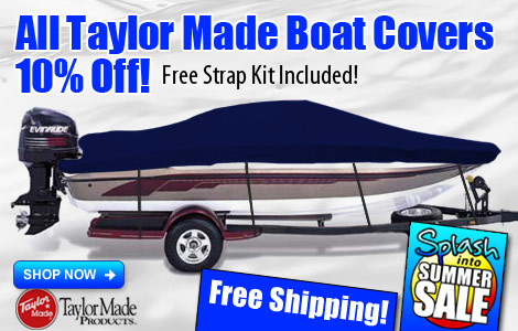Save 10% on All Taylor Made Boat Covers