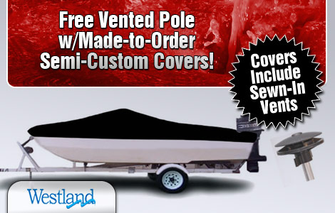 Free Vented Pole w/ Made-to-Order Semi-Custom Covers!
