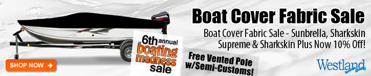 Boating Madness Fabric Sale - 10% Off!
