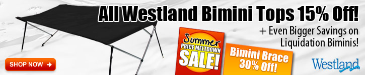Save 15% on Westland Bimini Tops