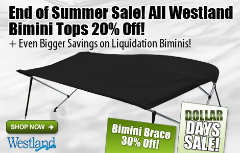 Save 20% Off All Westand Bimini Tops!
