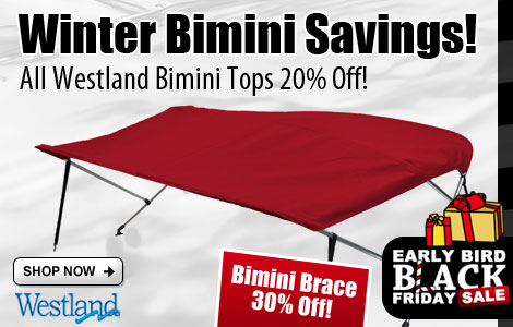 Save 20% Off All Westland Bimini Tops!