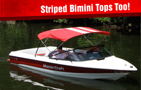 Striped Bimini Tops Too