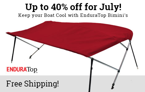 Keep your Boat Cool with EnduraTop Biminis