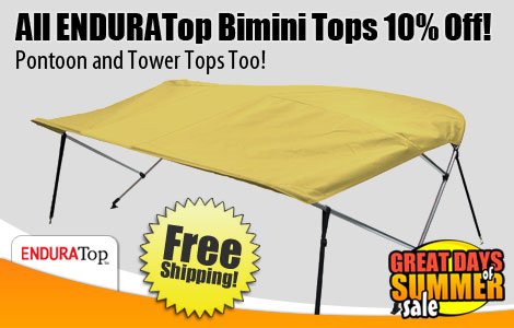 Save 10% Off All ENDURATop Biminis!