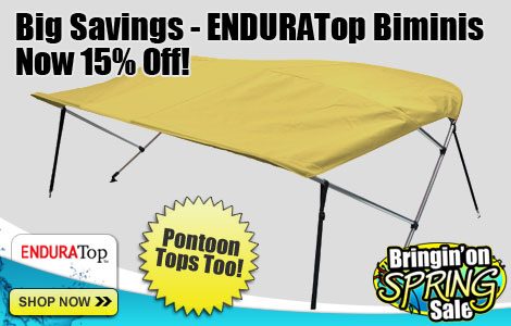 Save 15% off ENDURATop Biminis!