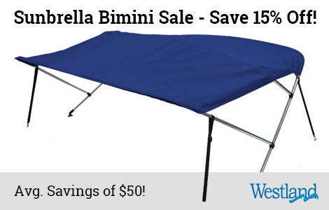Save 15% Off Sunbrella Biminis!
