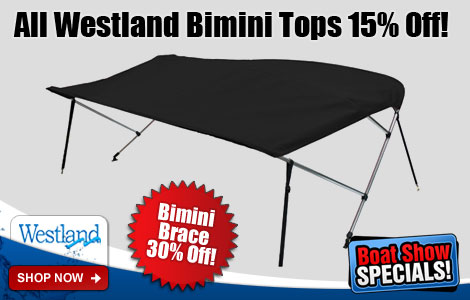 Save 15% Off All Westland Biminis!