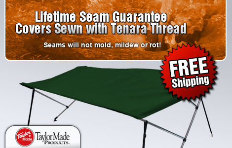 Seams will not mold, mildew or rot!