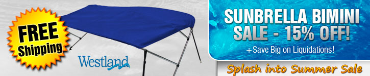 15% Off Sunbrella Bimini Tops!